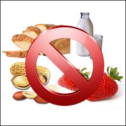 potravinov� alergie